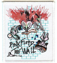 Pink Floyd Iron-On Patch The Wall Mosquito Logo