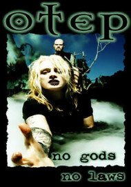 Otep Poster Flag No Gods No Laws Tapestry