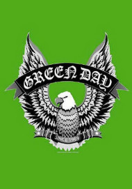 Green Day Poster Flag Eagle Logo Tapestry