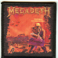 Megadeth Iron-On Patch Peace Sells Logo