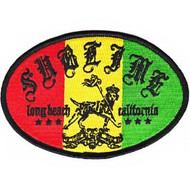 Sublime Iron-On Patch Rasta Lou Logo