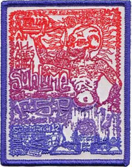 Sublime Iron-On Patch FSP Logo