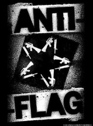 Anti-Flag Poster Flag Tour 2008 Star Logo Tapestry