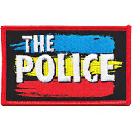 The Police Iron-On Patch Synchronicity Logo