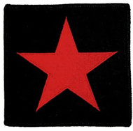 Red Star Iron-On Patch