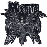 Misfits Iron-On Patch Descending Angel Logo