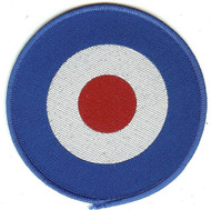 Mod Target Sew On Patch Circle Logo