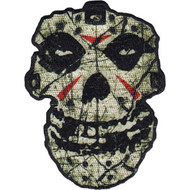 Misfits Iron-On Patch Crystal Lake Skull Logo
