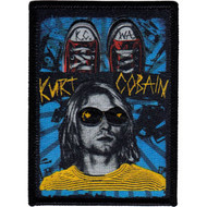 Kurt Cobain Iron-On Patch KCWA Logo