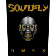 Soulfly Sew On Canvas Back Patch Omen Logo