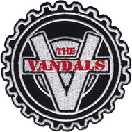 The Vandals Iron-On Patch Round Cog Logo
