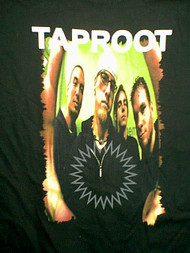 Taproot T-Shirt Welcome Logo Black Size Medium