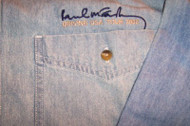 Paul McCartney Long Sleeve Denim Shirt US Tour Size Small