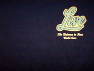 Live T-Shirt Local Crew Logo Black Size XL