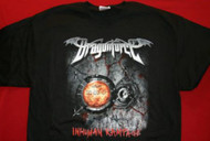 Dragonforce T-Shirt Inhuman Rampage Black Size Small