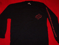 Drowning Pool Long Sleeve T-Shirt Black Size Medium