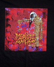 Monster Voodoo Machine T-Shirt Freedom Black Size XL