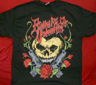 Bullet For My Valentine T-Shirt Heart Skull Black Size XL