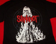 Slipknot T-Shirt Bride Logo Black Size Small