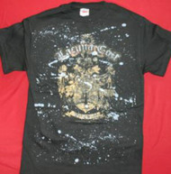 Lacuna Coil T-Shirt Shield Logo Black Size Large