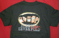 Avenged Sevenfold T-Shirt Gagged Black Size Small