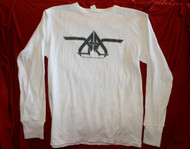 All-American Rejects Long Sleeve Thermal Shirt White Size Medium