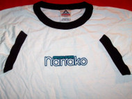 Amazing Nurse Nanako Ringer T-Shirt White Size Large