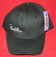 Phil Collins Hat Signature Logo Black One Size Fits Most