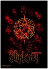 Slipknot Poster Flag Death Masks Tapestry