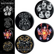 Black Veil Brides Four Button Set