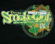 Cypress Hill Babydoll T-Shirt Smokeout Logo Black Size Large