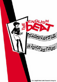 The English Beat Poster Flag Ska Girl Logo Tapestry