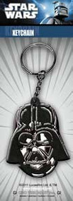 Star Wars Rubber Keychain Darth Vader