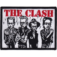 The Clash Iron-On Patch Band Caricature Logo