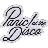 Panic At The Disco Iron-On Patch Letters Logo