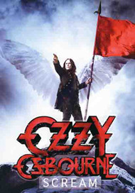 Ozzy Osbourne Poster Flag Scream Tapestry