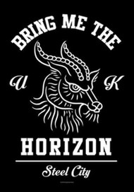Bring Me The Horizon Poster Flag Steel City Tapestry