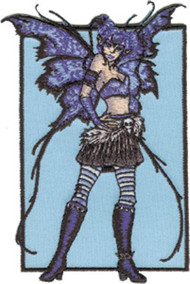 Amy Brown Iron-On Patch Pandemonium Fairy