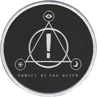 Panic At The Disco Iron-On Patch Round Triangle Logo