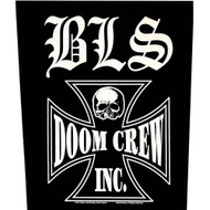 Black Label Society Sew On Canvas Back Patch Doom Crew Logo