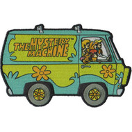 Scooby-Doo Iron-On Patch Mystery Machine Van Logo