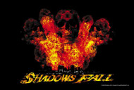 Shadows Fall Poster Flag Dead World Tapestry