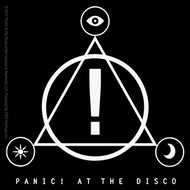 Panic At The Disco Vinyl Sticker Triangle  Logo