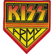 Kiss Army Iron-On Patch Large Logo