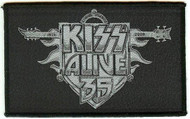 Kiss Sew On Patch Alive 35 Logo
