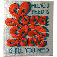 The Beatles Iron-On Patch All You Need Is Love Logo