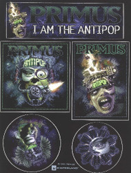 Primus Vinyl Sticker Set I Am The Antipop