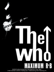 The Who Vinyl Sticker Maximum R&B Logo