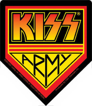Kiss Army Logo Vinyl Sticker