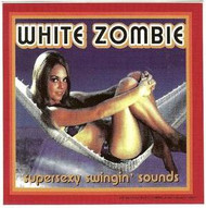 White Zombie Vinyl Sticker Super Sexy Square
